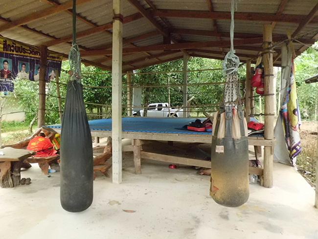 Muay Thai Gym Logo Living at a Muay Thai Camp