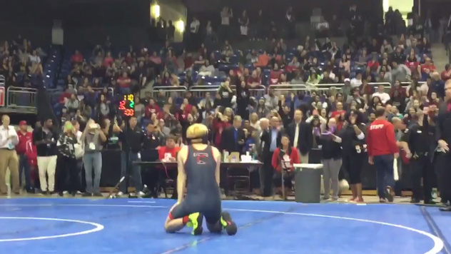 community news, Transgender Wrestler Mack Beggs Gets Booed After Winning Texas State Title
