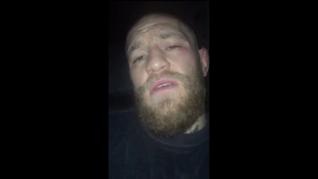 community news, Watch Conor McGregors Second Acceptance Speech From the World MMA Awards