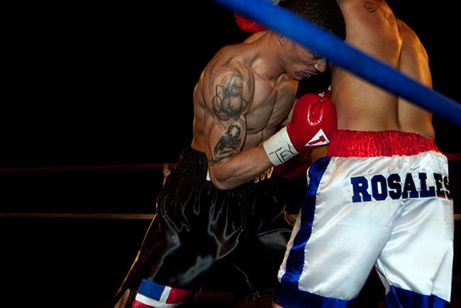 Black stripper boxing