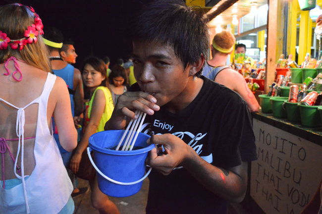 An American in Thailand: The Full Moon Party | FIGHTLAND