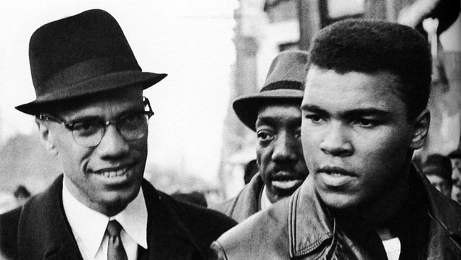 Malcolm X with Ali