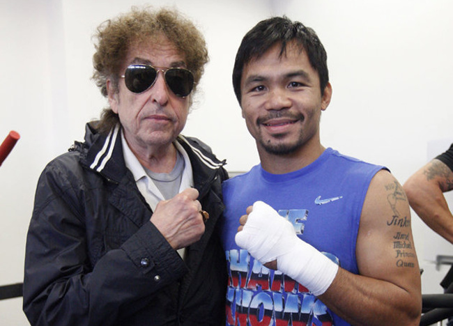 Cassius Clay, Here I Come: Bob Dylan and Boxing