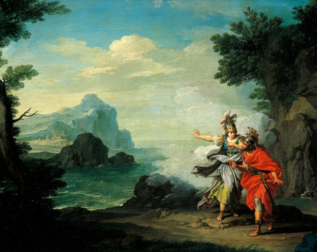 Wrestling in Mythology: Ajax vs  Odysseus | FIGHTLAND