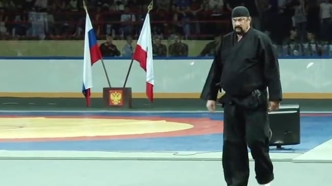 Super Watch Steven Seagal Teach a Martial Arts Seminar in Russia | FIGHTLAND #AQ_13
