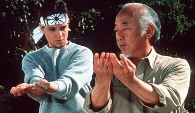 Resultado de imagen para maestro miyagi