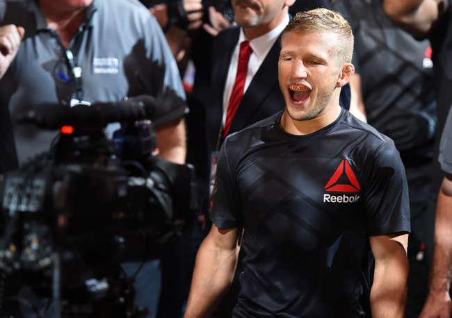 Angles and Jabs: TJ Dillashaw Protects His Crown