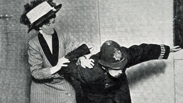 Edith Garrud and the Jiu Jitsu of the Suffragette Movement   FIGHTLAND