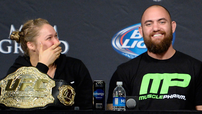 Image result for travis browne ronda rousey