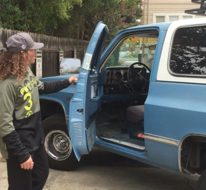 community news, The Search for Clay Guidas Stolen Truck