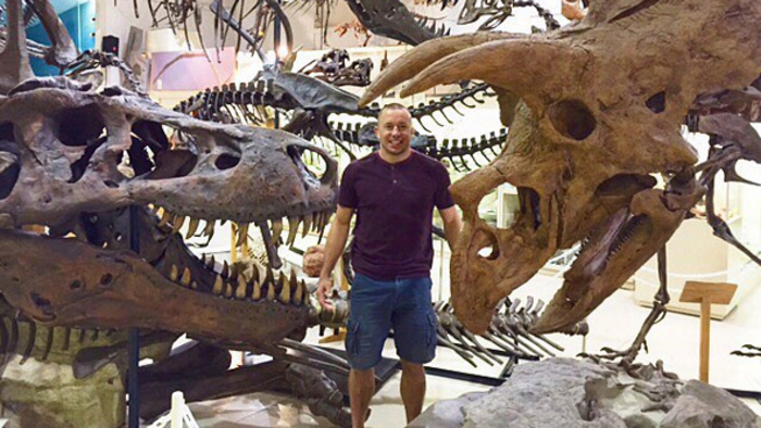 Georges St Pierre Is Now the Host of a Television Show About Dinosaurs