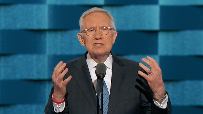 community news, Harry Reid Returns to His Boxing Roots to Attack Trump