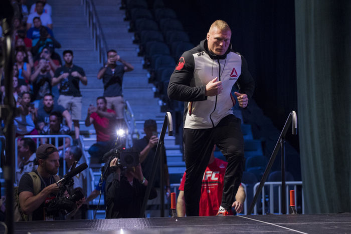 Brock Lesnar and Jon Jones Quietly Removed From Official UFC Rankings