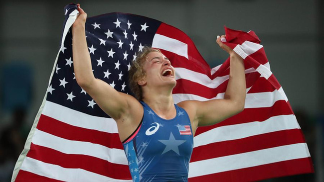 Helen Maroulis Trained With Champions to Become the First American Woman Wrestler to Win Gold
