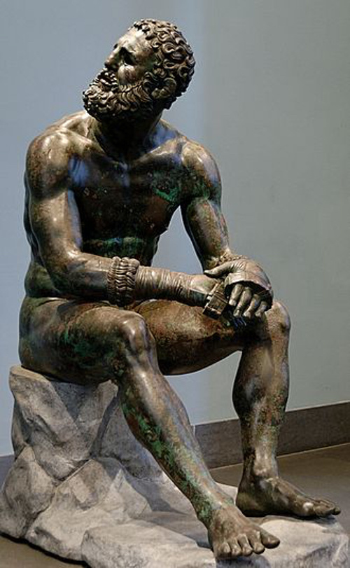 ... of horror, and of triumph, that establish boxing, wrestling, and the  Pankration in ancient Greece as one of the originators of today's combat  sports.