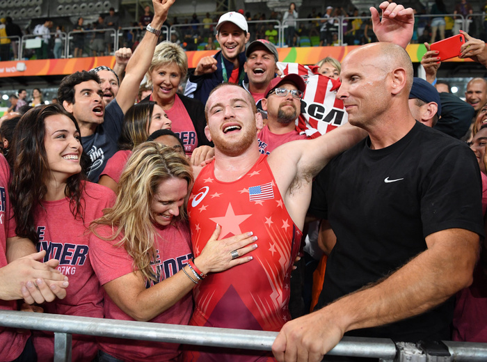 eefaba28812e Olympic Gold Medal-Winning Wrestler Kyle Snyder Wants to Compete in ...