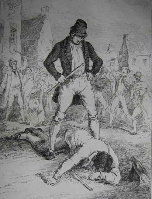 Real Irish Fighting: A History of Shillelagh Law and Hob