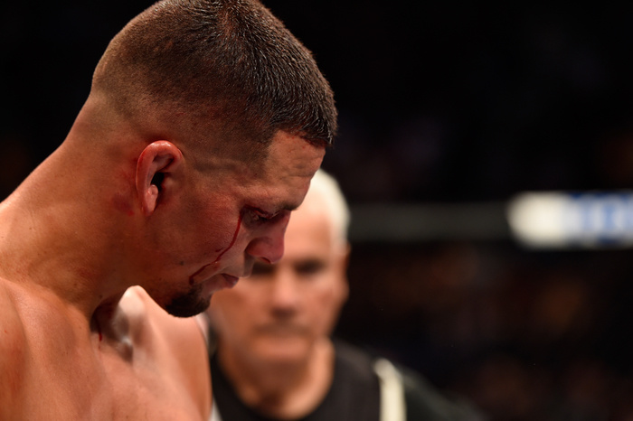 fight doctor nate diaz s right eyebrow and the 80 rule fightland