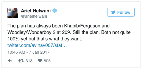 community news, Khabib vs. Ferguson: 2017s Most Anticipated Fight (So Far) Edges Closer to Confirmation