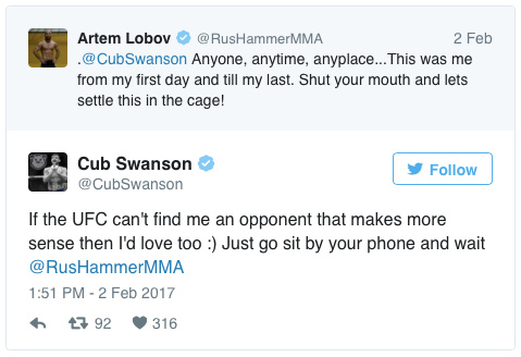 community news, Artem Lobov to Headline UFC Nashville Card Against Cub Swanson