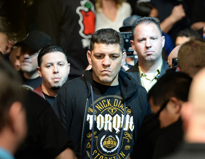 Nick Diaz Claims He Challenged Michael Bisping Before the Big GSP Announcement