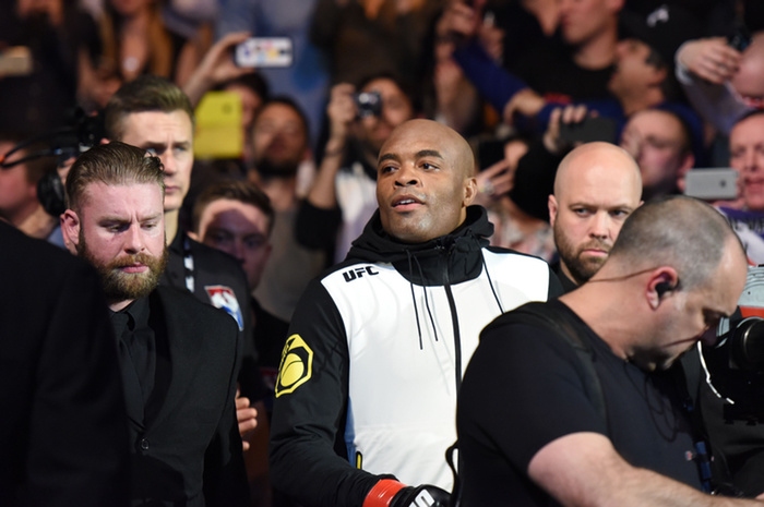 Anderson Silva Wants to Fight in Rio, but Only Against Nick Diaz