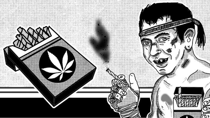 Confessions of an English Ganja Smoking Nak Muay