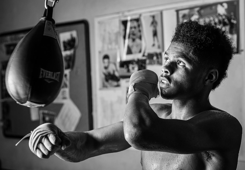 Q&A With Shakur Stevenson: 'The Next Floyd Mayweather'