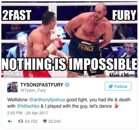 Tyson Fury: The Elephant Outside the Room